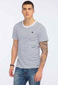 DreiMaster - T-shirt con stampa - dark blue - 0
