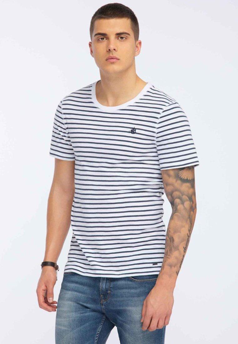 DreiMaster - T-shirt con stampa - dark blue