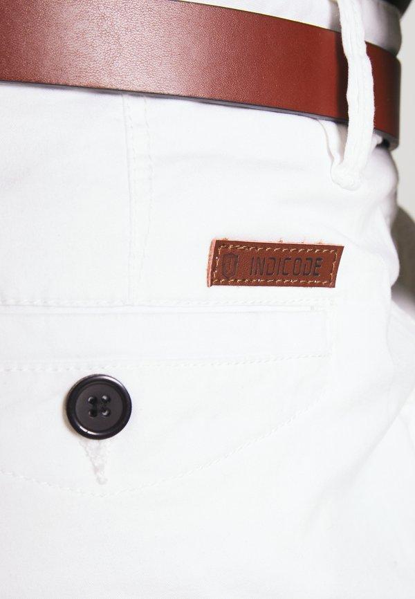 INDICODE JEANS GOVER - Chinosy - offwhite/mleczny Odzież Męska NRGM