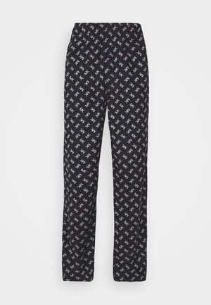 ROLLED PANT - Pyjama bottoms - midnight
