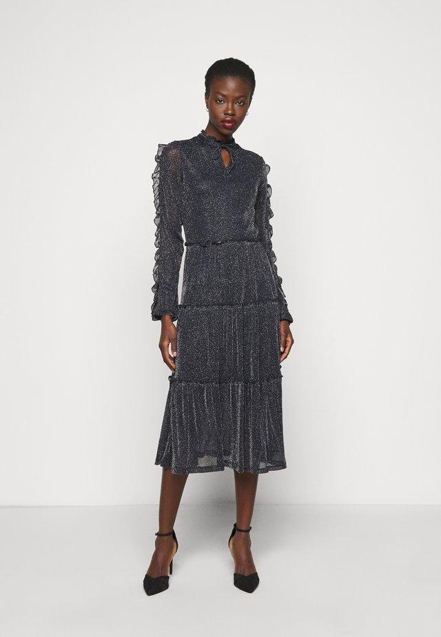 NMGLAM LONG DRESS - Sukienka koktajlowa - night sky/silver