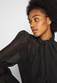 Vero Moda - VMBRIANA - Button-down blouse - black - 3