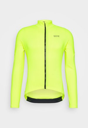 C3 THERMO  - Kurtka z polaru - neon yellow