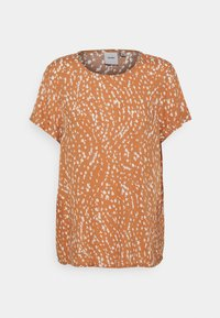 ICHI - VERA - Print T-shirt - sunburn - 0