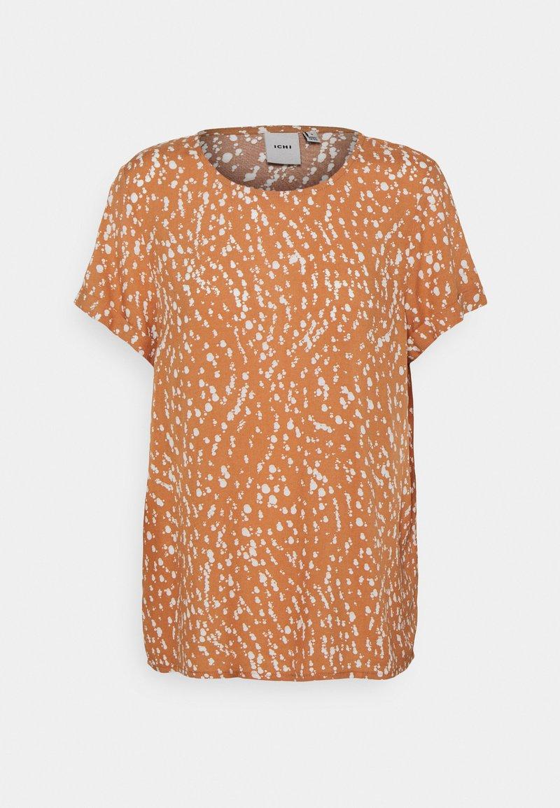 ICHI - VERA - Print T-shirt - sunburn