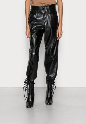 TALYA PANTS - Trousers - black