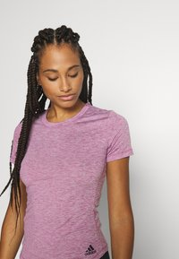 adidas Performance - TEE - Basic T-shirt - purple - 3