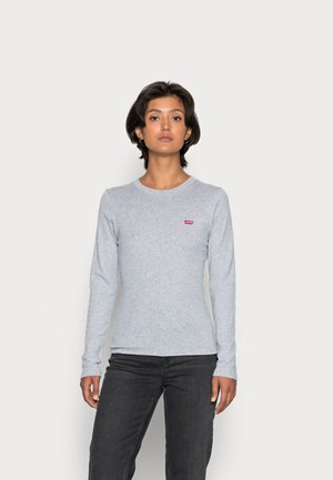 BABY TEE - T-shirt à manches longues - starstruck heather grey