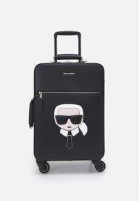 KARL LAGERFELD - IKONIK - Wheeled suitcase - black - 0