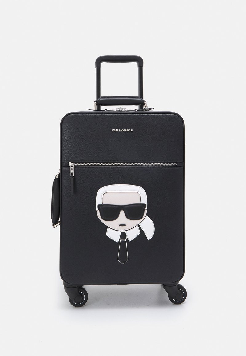 KARL LAGERFELD - IKONIK - Wheeled suitcase - black