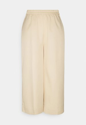 PCLINIANNE CULOTTE PANT TALL - Trousers - almond buff