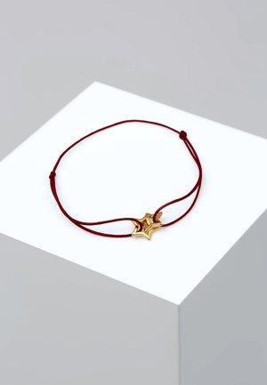 STAR - Bracelet - red