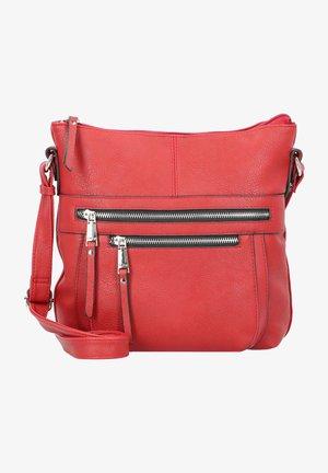 Tina  - Across body bag - red