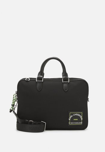 RUE ST GUILLAUME LAP SLEEVE UNISEX - Briefcase - black