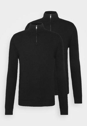 2 PACK - Jersey de punto - black