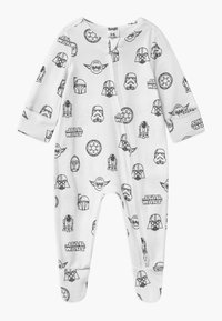 Cotton On - LUCASFILMS STAR WARS LONG SLEEVE ZIP UNISEX - Sleep suit - white - 2