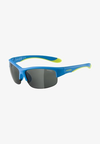 Sunglasses - blue-lime