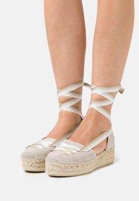 Gaimo - EVA - Lace-up heels - stone - 0