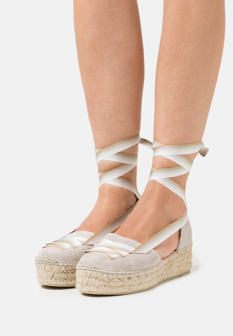 Gaimo - EVA - Lace-up heels - stone