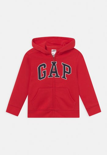 TODDLER BOY LOGO - Zip-up sweatshirt - red wagon