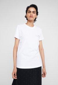 DESIGNERS REMIX - STANLEY TEXT TEE - T-shirt print - white - 0
