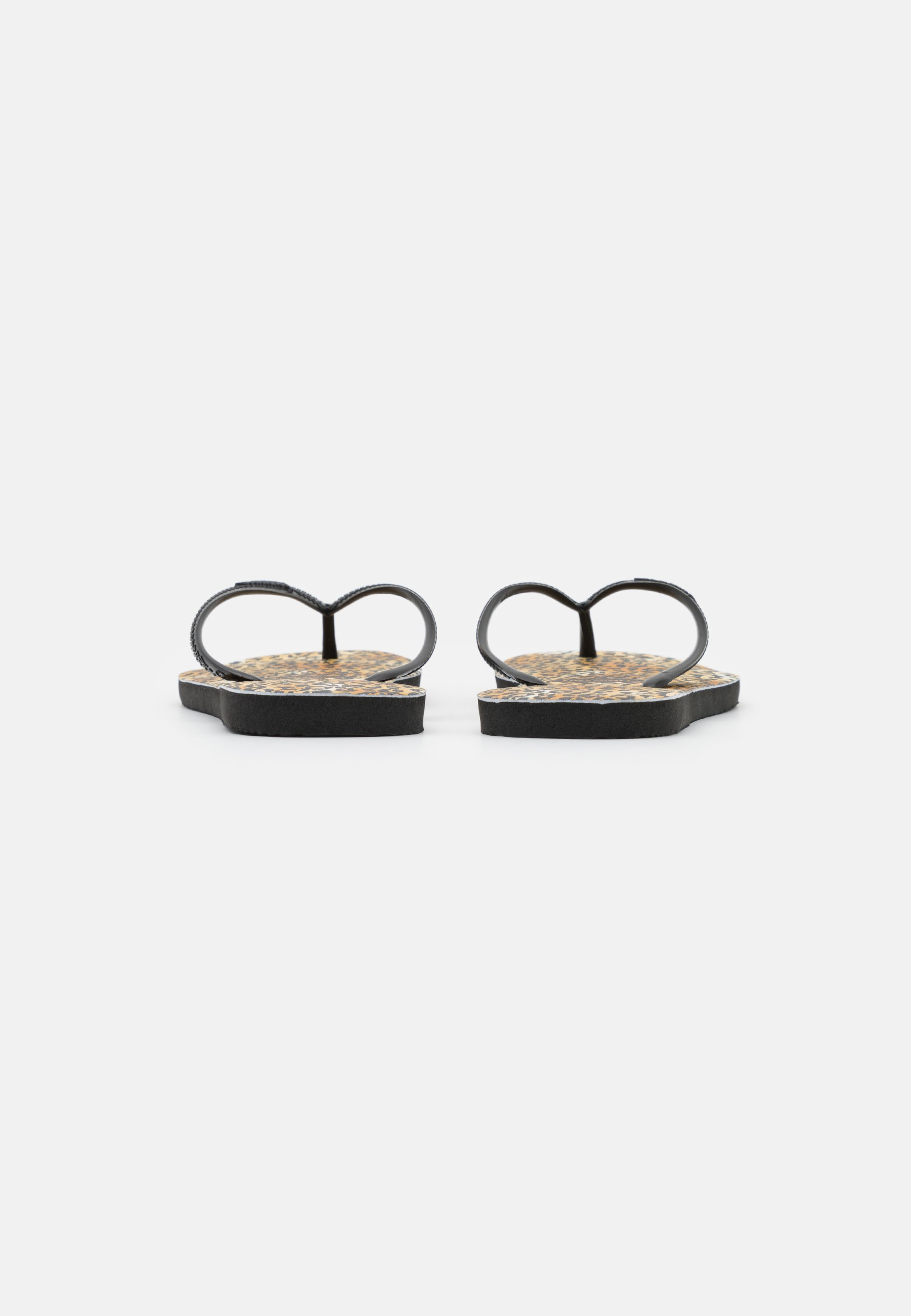 Women SLIM FIT LEOPARD - T-bar sandals