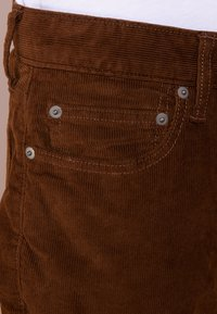 J.CREW - Tygbyxor - warm brown - 4