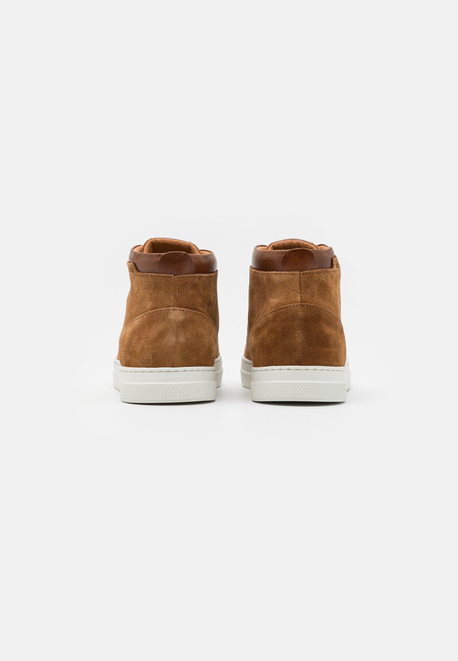 Schmoove SPARK MID - Sneaker high - cognac/camel/cognac - Herrenschuhe LPeTE