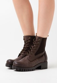 Anna Field - Platform ankle boots - brown - 0