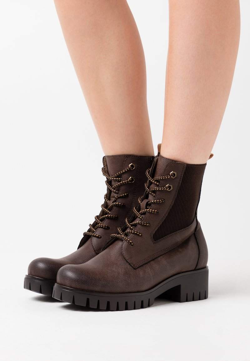 Anna Field - Platform ankle boots - brown