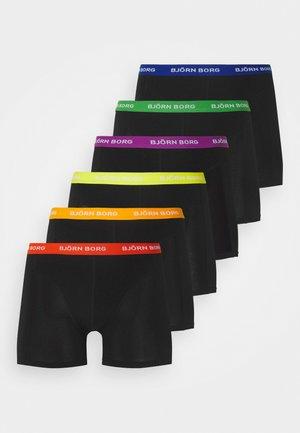 PRIDE SAMMY 6 PACK - Underkläder - black beauty