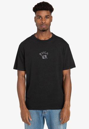 PEACE BONES  - Print T-shirt - black