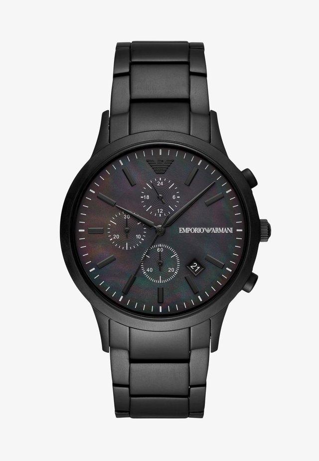 Kronografklokke - black