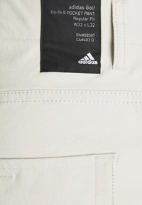 adidas Golf - GO TO FIVE POCKET PANT - Kalhoty - clear brown - 2