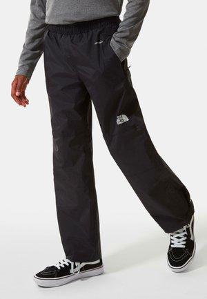 RESOLVE - Rain trousers - tnf black