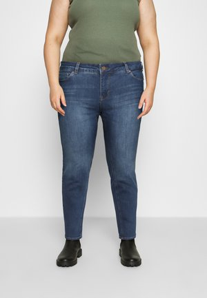 SANNA - Jeansy Skinny Fit - blue denim