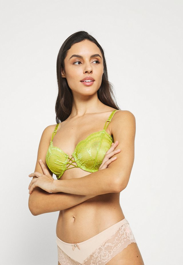 DELILAH UNDERWIRE BRA - Underwired bra - citron