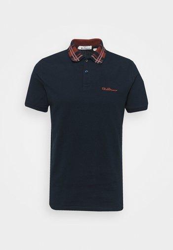 COLLAR INTEREST - Polo shirt - dark navy