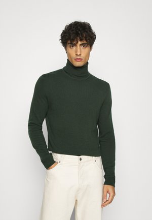 BASIC ROLL NECK - Maglione - dark green