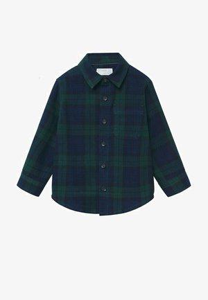 GERUIT  - Overhemd - donkergroen