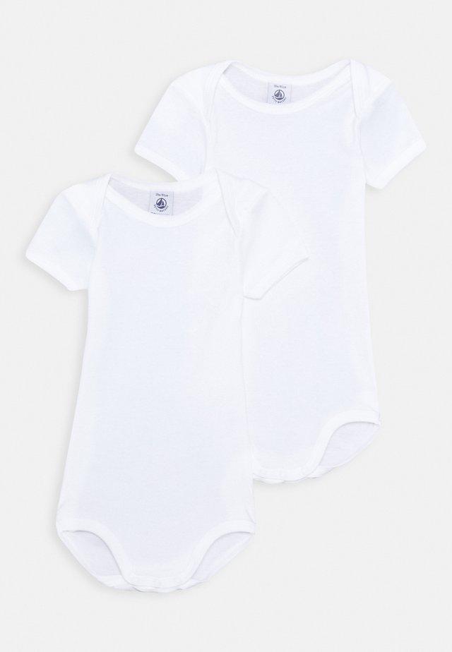 UNISEX 2 PACK - Body - white