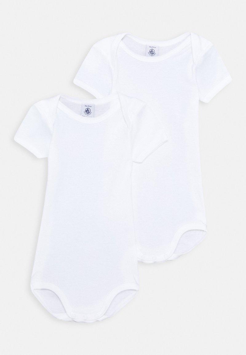 Petit Bateau - UNISEX 2 PACK - Body - white