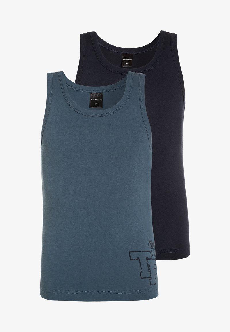 Schiesser - 2 PACK - Undershirt - dark blue