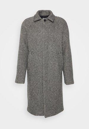 DAMIER - Classic coat - damier noir/blanc