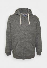 Blend - NORTH - Zip-up hoodie - pewter mix - 3