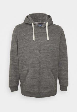 NORTH - Zip-up hoodie - pewter mix
