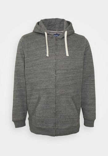NORTH - Sweater met rits - pewter mix