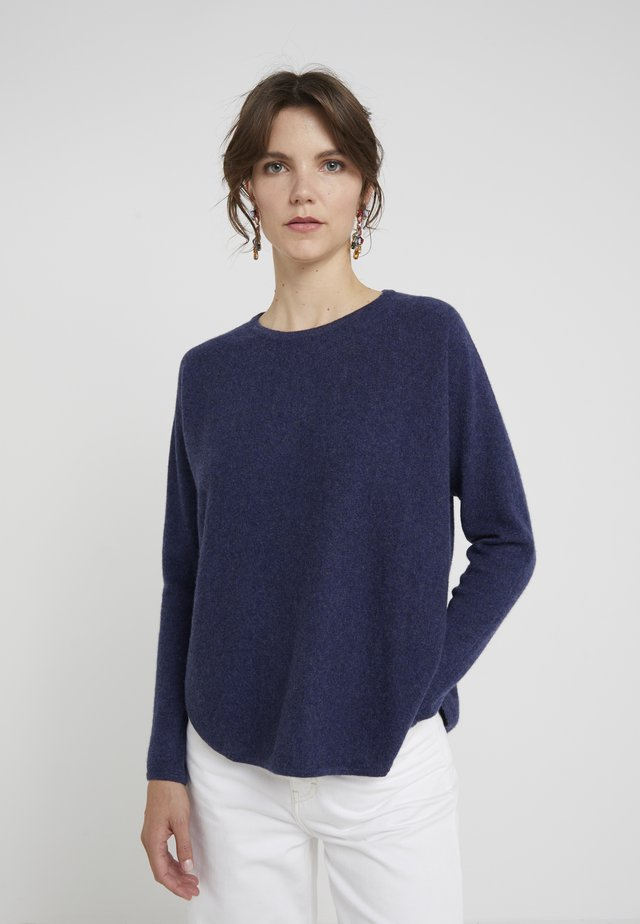 CURVED - Jumper - denim blue