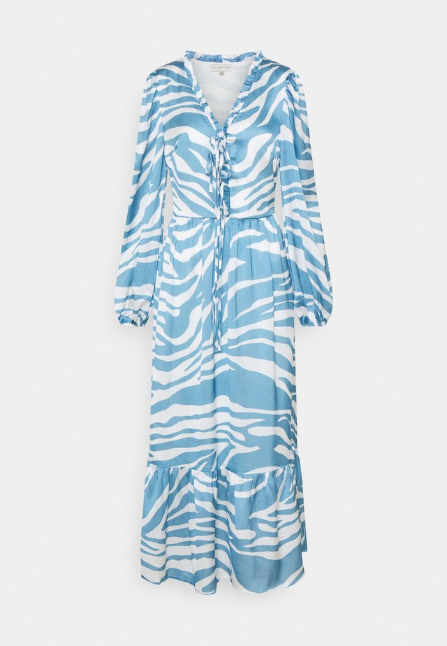 ZEBRA MIDAXI - Maxiklänning - blue