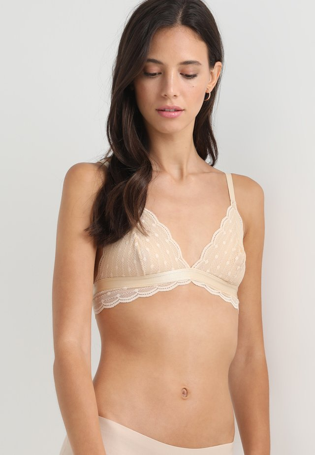 TREATS DOTS BRALET - Trekants-bh'er - blush